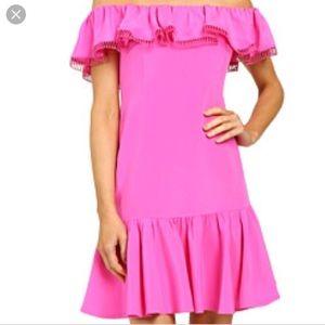 Rebecca Taylor Hot Pink Dress